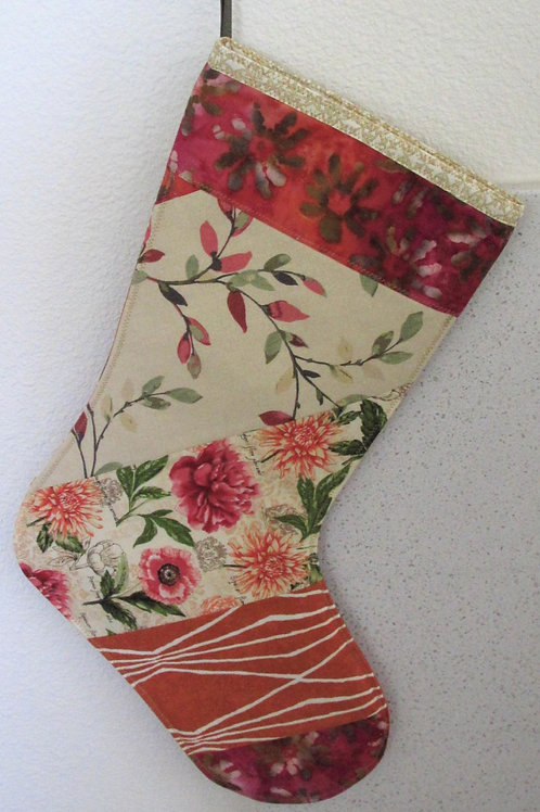 Patchwork Holiday Stocking
