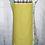 Thumbnail: Seafoam & Yellow Flowers Reversible Bib Apron w/Adjustable Neck Strap