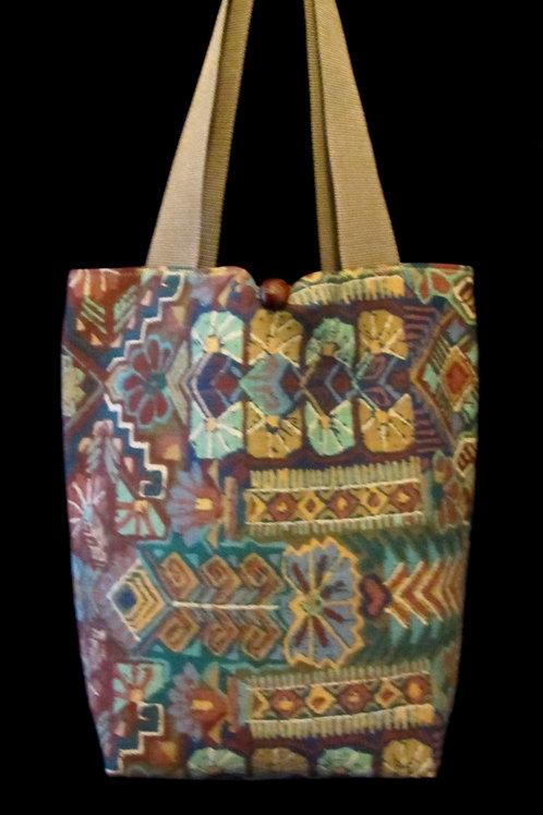 Multi Colored Tapestry Bag