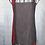 Thumbnail: Red, Black & Grey Reversible Bib Apron w/Adjustable Neck Strap