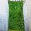 Thumbnail: Lime Green Leaves & Sea Glass Reversible Bib Apron w/Adjustable Neck Strap
