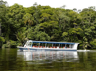 Discover the rainforest and the Braulio Carrillo National Park by boat