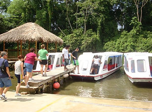 Boat trip on the Sarapiqui River