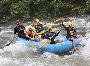 Experience the thrill of rafting on the Sarapiqui River