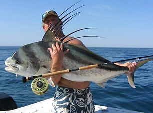 Sport fishing in the Pacific Ocean