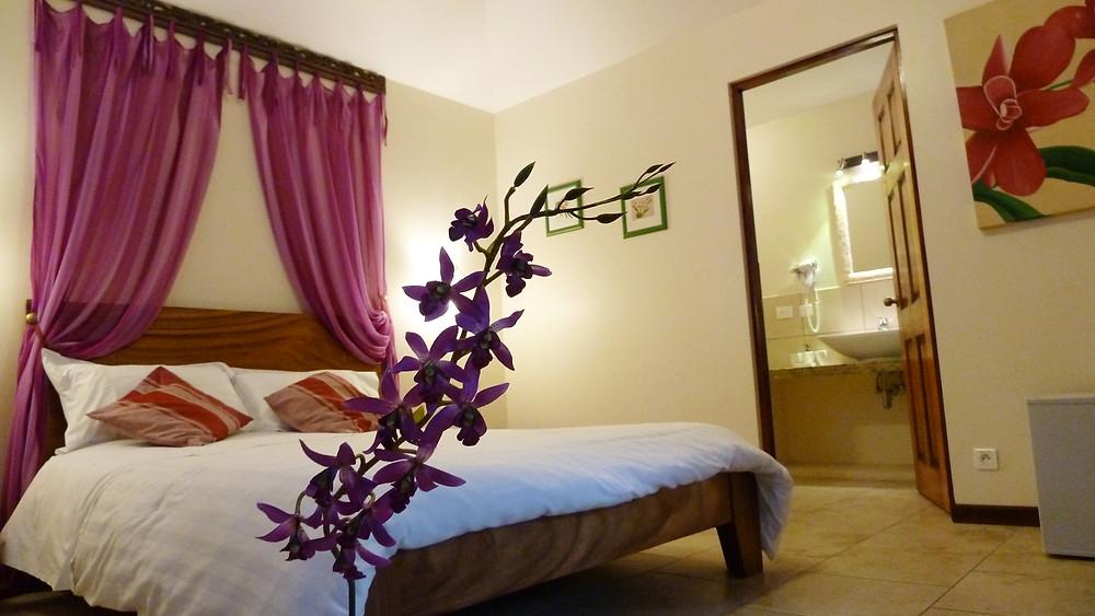 Casita Orquídea, la jolie et raffinée chambre de TACACORI EcoLodge