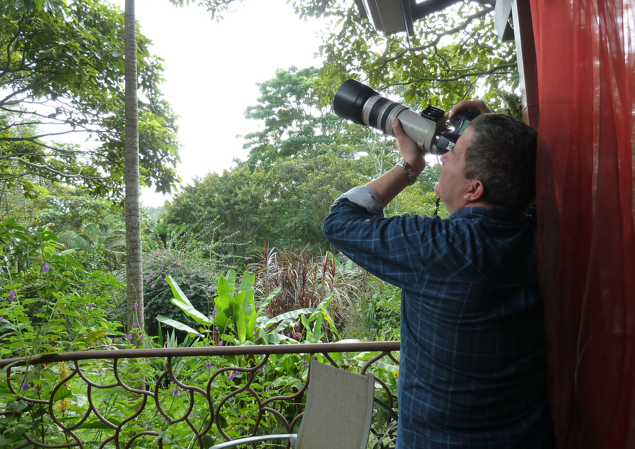 birdwatcher a TACACORI Ecolodge