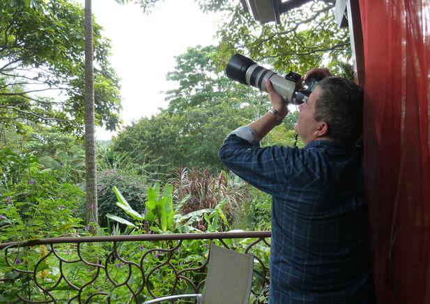 birdwatcher a TACACORI Ecolodge