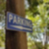 Panneau de signalisation de parking