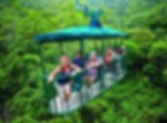 Vivez l'expérience de la forêt tropicale à Guapiles en Aéro tram