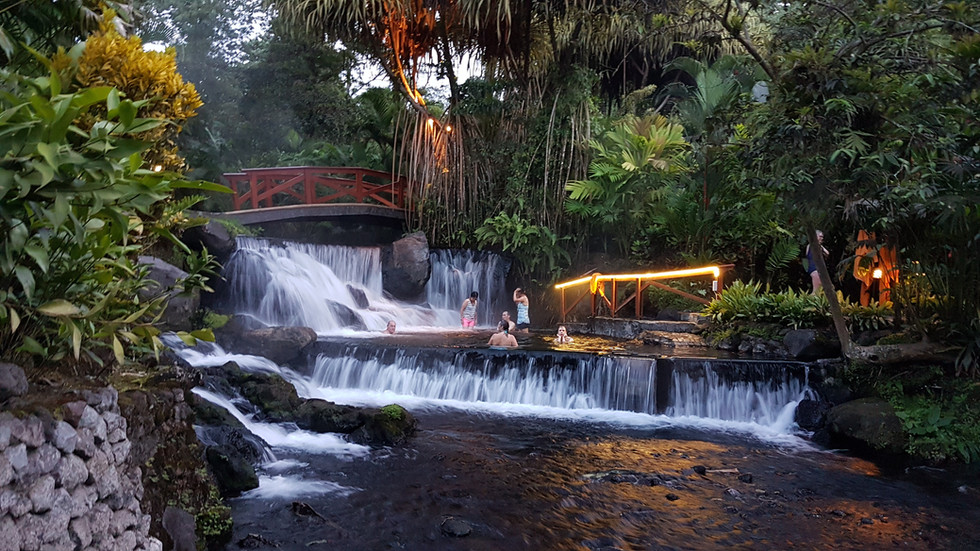 Tabacón Hot springs