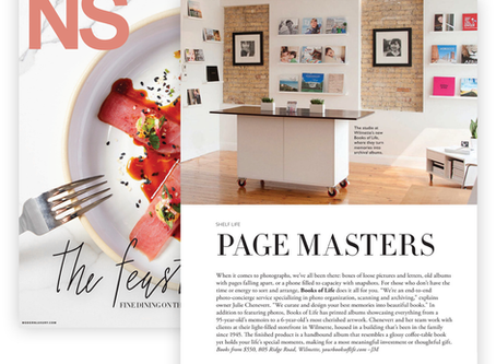 PAGE MASTERS (from NS Magazine)