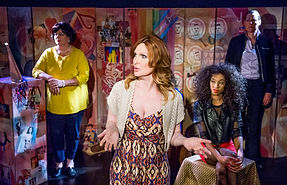 Trans Scripts Photo by Colin Hattersley (L to R) Catherine Fitzgerald, Bianca Leigh, Jay Knowles, Rebecca Root