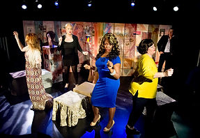 Trans Scripts Photo by Colin Hattersley (L to R) Bianca Leigh, Calpernia Addams, Carolyn Michelle Smith, Catherine Fitzgerald, Rebecca Root