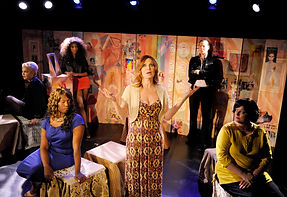 Trans Scripts Photo by Colin Hattersley (L to R) Calpernia Addams, Carolyn Michelle Smith, Jay Knowles, Bianca Leigh, Rebecca Root, Catherine Fitzgerald