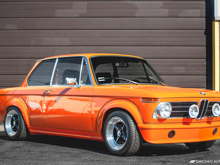 Detailing a Classic: Turning a Fully-Restored 1972 BMW 2002 Into a Time Capsule
