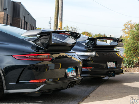 Paint Protection Film | Seeing Double - Porsche 911 GT3