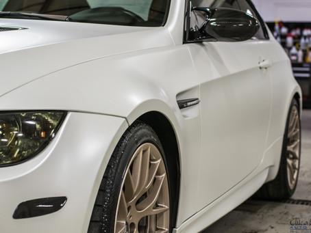 BMW M3 | Vinyl Color Change | Wheel Powder Coating