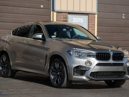 BMW X6M | Modesta Glass Coating | Xpel Ultimate