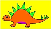 Dinosaur Single Steg Orange.jpg