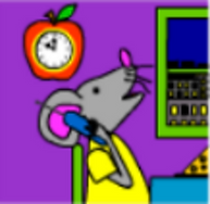 Meece Mouse On The Phone.png