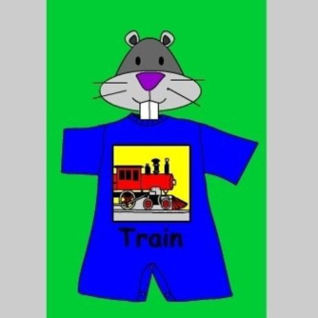 NYC Train SS Romper