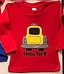 NYC Baby Taxi Red LS Tee.jpg