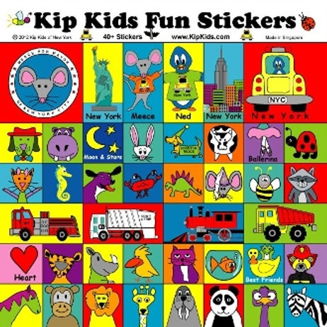 Kip Kids Fun Stickers