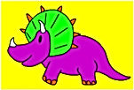 Dinosaur Single Rhino Purp.jpg