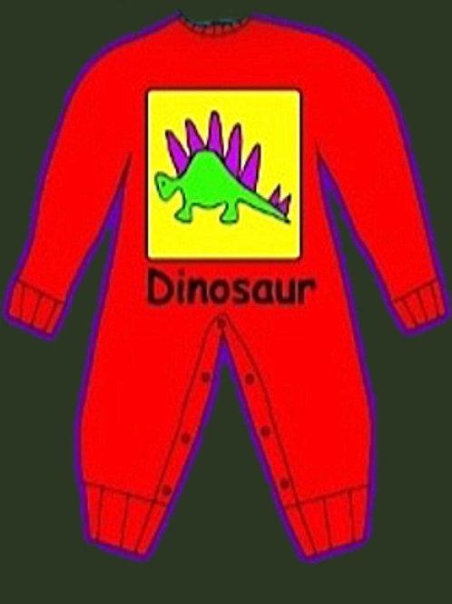 Dinosaur LS Romper