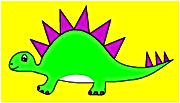 Dinosaur Single Green Steg.jpg