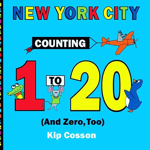 New York City Counting 1 to 20