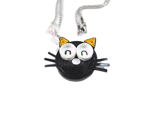 Quirky Cat - Pendant