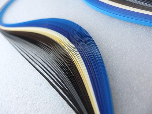 Quilling Paper - Blue Spectrum