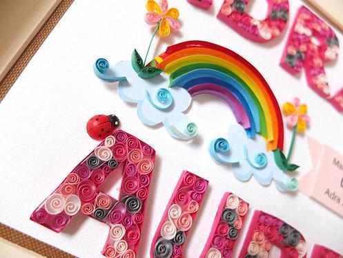 Rainbow and Pony