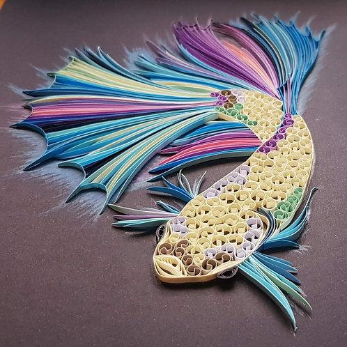 Aquatic Series - Betta Swirls I
