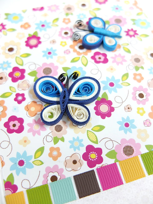 Pastel Butterfly Twins