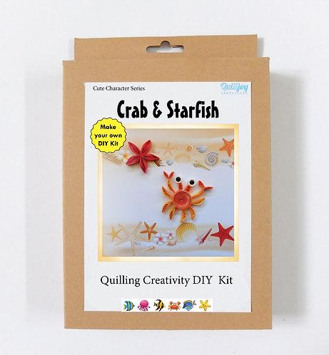 DIY Kit - Crab & Starfish