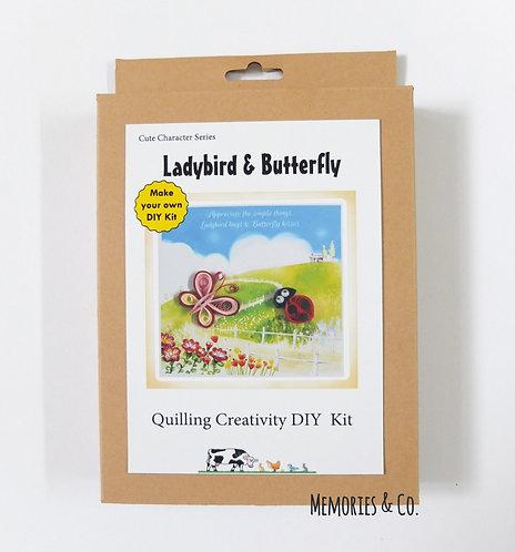 DIY Kit - Ladybird & Butterfly