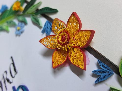 Floral Wreathe 03