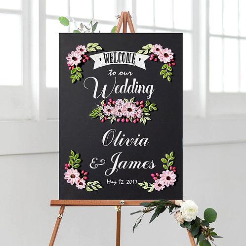 Chalkboard - Pinky Carnation