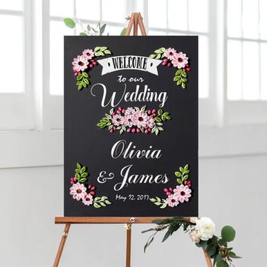 Wedding Foyer Quilling Piece