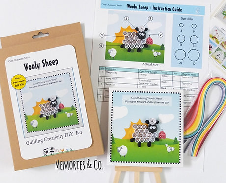 DIY Kit - Wooly Sheep