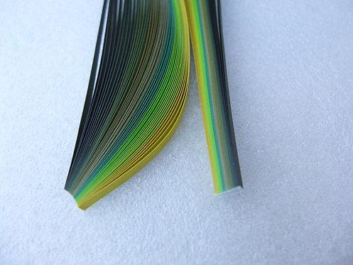 Quilling Paper - Green Spectrum