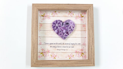 Mini Hearts : Royal Purple