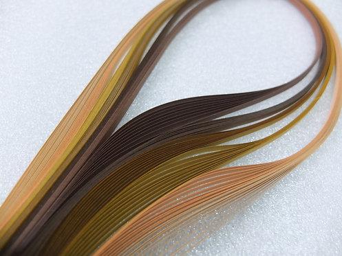 Quilling Paper - Brown Spectrum