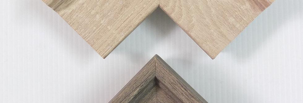 Pastel Wood Box Frame