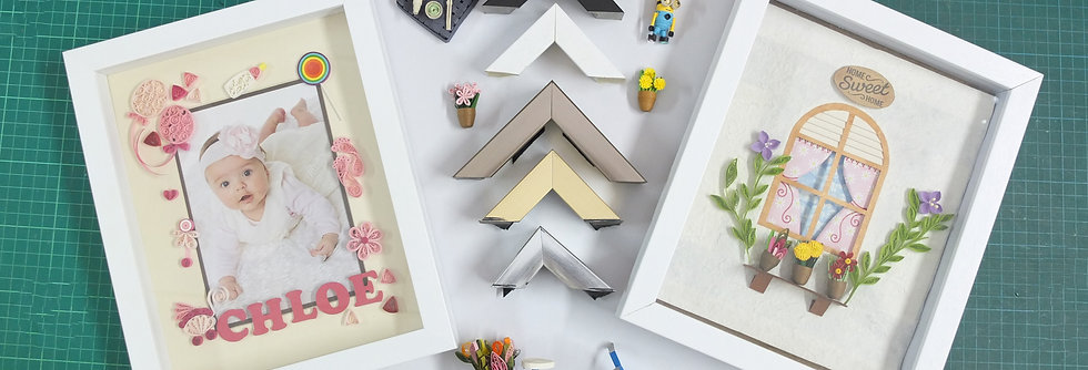 Quilling Box Frame