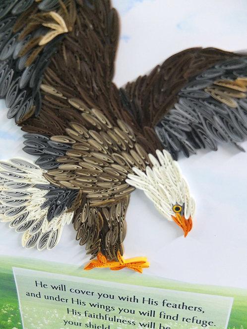 Eagle - Shield in Green Pasture