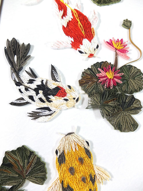 Koi Fish 錦鯉魚輝煌